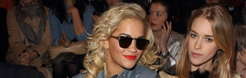 Rita Ora wears sunglasses