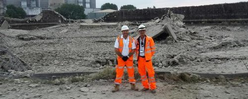 Didcot Towers Demolished
