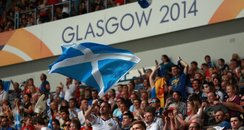 Glasgow 2014 fans rugby sevens