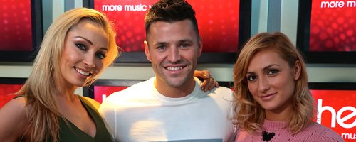 Mark Wright with dancers