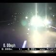 honda jazz approaching police on M6
