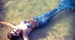 Emily Keat as a mermaid