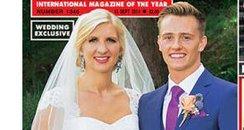 Rebecca Adlington wedding coverage Hello Magazine