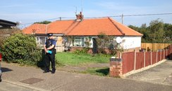 Costessey House Sealed Off For Investigation 1