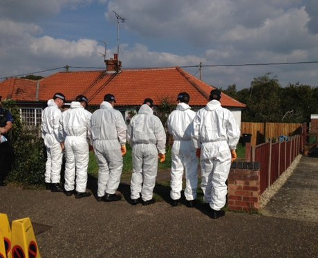 Costessey House Sealed Off For Investigation 2