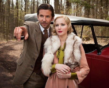 Bradley Cooper and Jennifer Lawrence in Serena