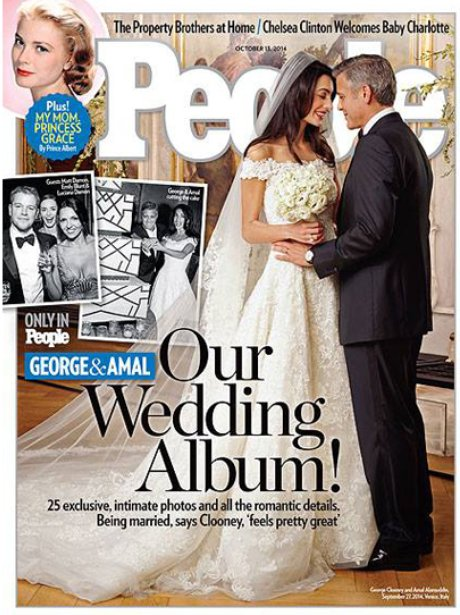 George Clooney and wife Amal Alamuddin's wedding