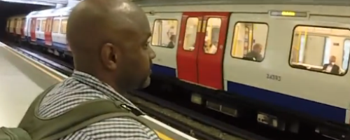 Wheelchair vs Tube (YOUTUBE)