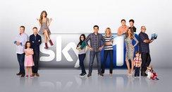 sky, modern family