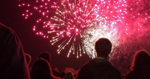 Pictures: Cambridge Fireworks 2014