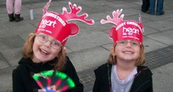 Heart Angels Barnstaple Christmas lights