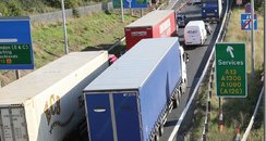 Congestion on the A13