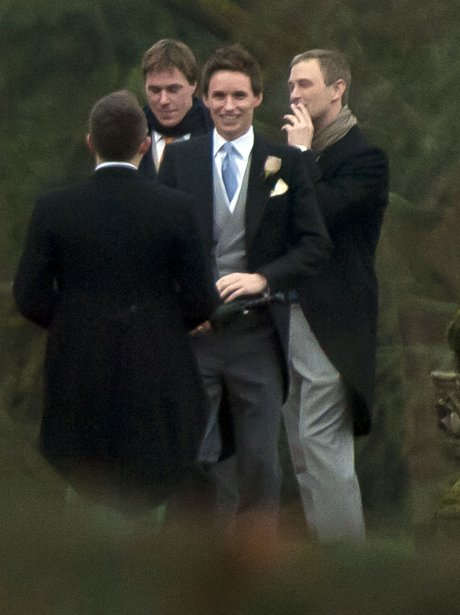 Eddie Redmayne gets married
