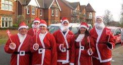 Santa Run Bedford 2014