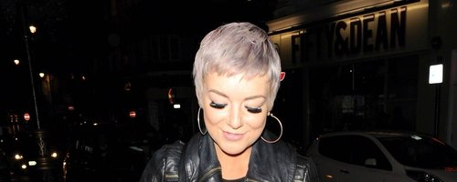 Sheridan Smith Purple Hair