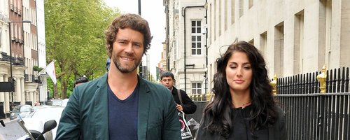 Howard Donald and Katie Halil