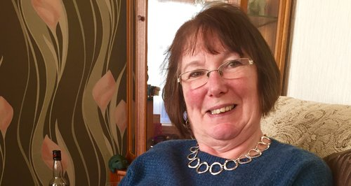 Lorraine Mckeag, who died in a collision on the M3