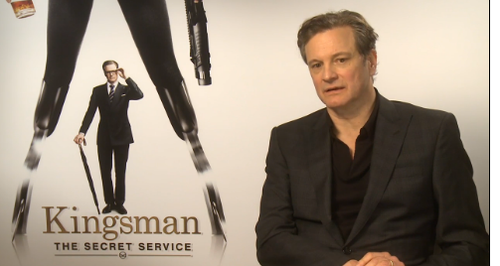 COLIN FIRTH - KINGSMAN SECRET SERVICE