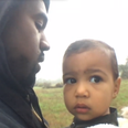Kanye West and North West- Only One
