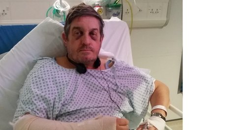 Richard was attacked in Peterborough on Friday