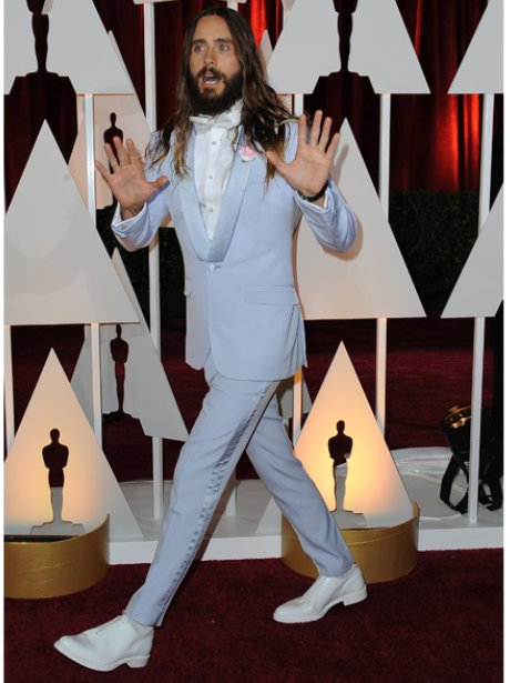 The 80s Wedding Singer Jared Leto