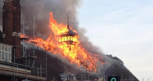 battersea arts centre fire