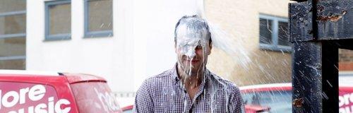 Tom Gets Showered In Milk