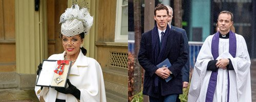 Joan Collins and Benedict Cumberbatch Canvas