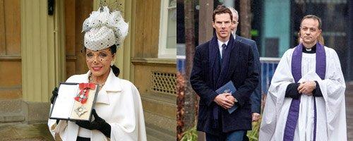 Joan Collins and Benedict Cumberbatch Canvas