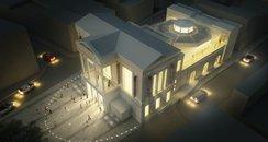 St Albans Museum - Dusk
