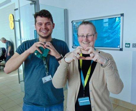 Two happy EE employees!