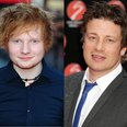 Ed Sheeran and Jamie Oliver template