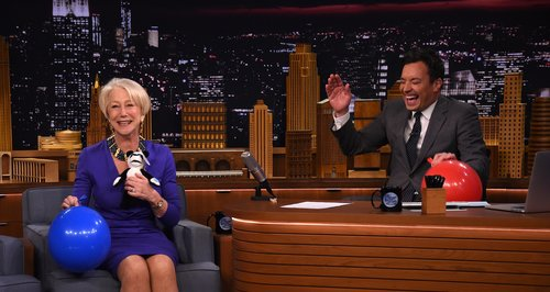 Helen Mirren on Jimmy Fallon