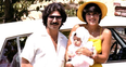 Kourtney Kardashian throwback picture with mum Kri