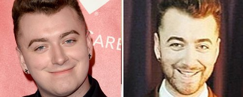 Sam Smith before and after diet