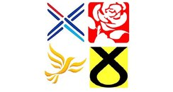 Scottish election logos