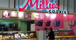 Millie's Cookies Shop Front