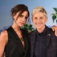 Victoria Beckham on Ellen Degeneres