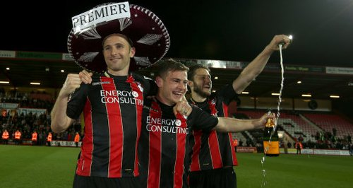 AFC Bournemouth Cherries Premier League promotion