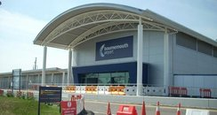 Bournemouth Airport entrance