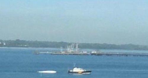 speedboat crash Solent Warsash