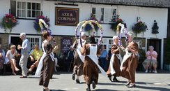 Dancers at the Hemingford Flower Fest