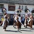 Dancers at the Hemingford Flower Fest
