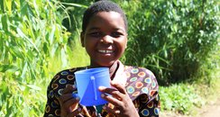 Marita's just one child fed by Mary's Meals