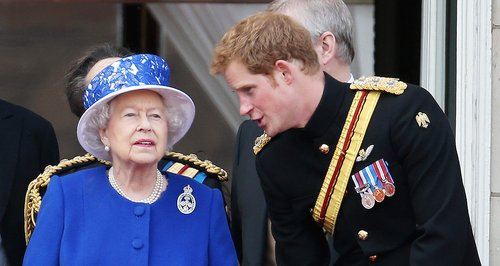 Prince Harry gets a Knighthood from the Queen