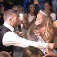 Gary Barlow sings to fan at wedding