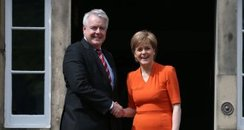 Nicola Sturgeon & Carwyn Jones