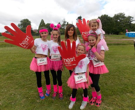 Solihull Race For Life  - Before The Race!