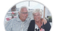 Denis and Elaine Thwaites funeral programme