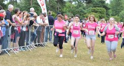 Oxford Race For Life: Finish Line